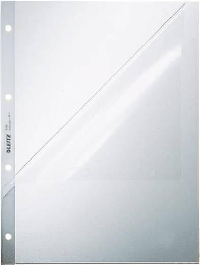 Leitz Prospekthüllen oben + Lochseite offen/4784-00-03 A4/120my geprägt PP
