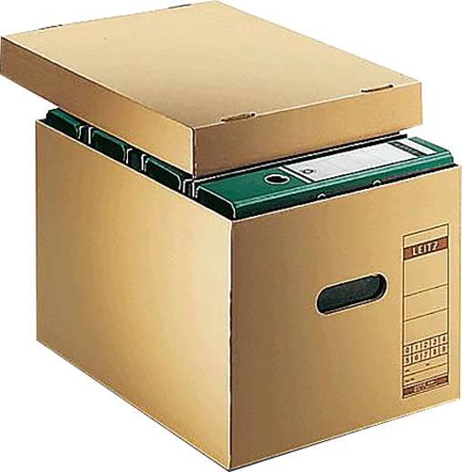 Leitz 6081-00-00 Archivbox Premium DIN A4 Naturbraun 1 St.