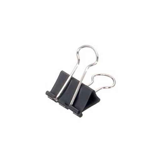 Maul Foldback Klemmer maulys/2152590 25mm schwarz Inh.12