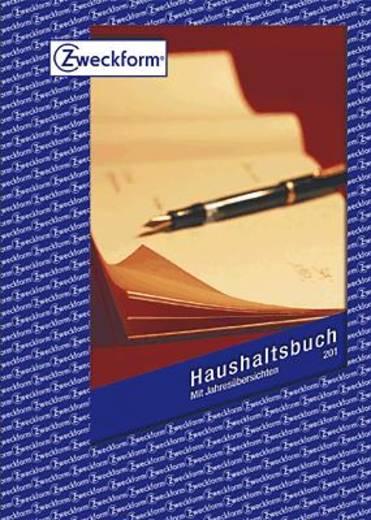 Zweckform Haushaltsbuch/201 A5 Inh.36 Blatt