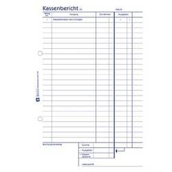 Avery Zweckform 318 Kassenbestandsrechnung, A5, 50 Originale, 50 Blatt