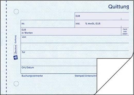 Avery Zweckform Quittungen/321 DIN A6 quer weiß/weiß Bl m. MwSt. Inh.2x50 Blatt