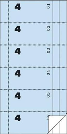 Zweckform Bonbücher/834 105x198 mm blau/weiß Inh.2x50 Blatt