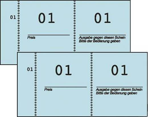 Zweckform Nummernblöcke/869 105x53 mm sortiert 1-1000 Inh.1000 Blatt