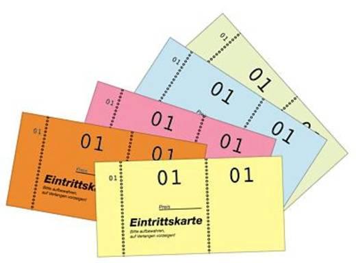 Zweckform Eintrittskarten/871 105 x 53 mm Inh.5,01-500 01-500 VE=5