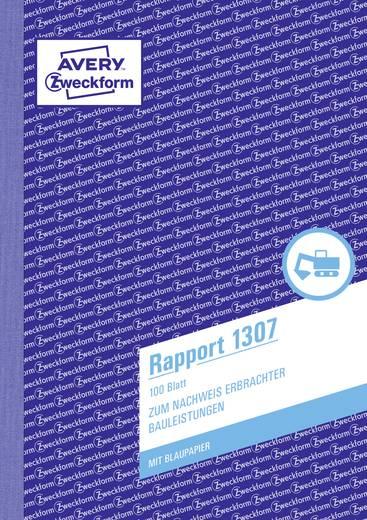 Avery Zweckform 1307 Rapport, A5, mit Blaupapier, 100 Blatt