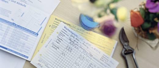 Avery Zweckform 1311 Wochenbericht, A5 quer, mit Blaupapier, 2x50 Blatt