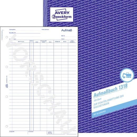 Avery Zweckform 1318 Aufmaß, A4, 100 Blatt