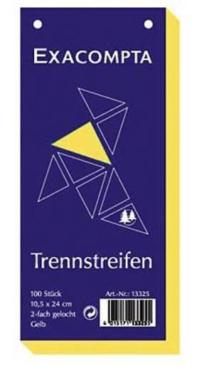 Brause Trennstreifen Premium/13325B gelb Inh.100
