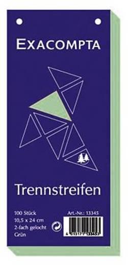 Brause Trennstreifen Premium/13345B grün Inh.100
