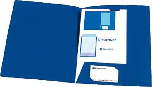 Exacompta Präsentationsmappe KREA COVER/43502E blau