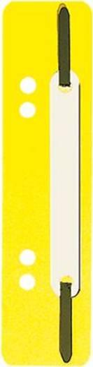 5 Star Einhängeheftstreifen PP kurz 150 x 34 mm gelb Polypropylen Inh.25