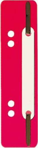 5 Star Einhängeheftstreifen PP kurz 150 x 34 mm rot Polypropylen Inh.25