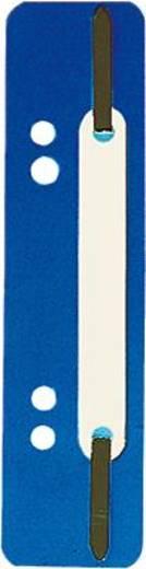5 Star Einhängeheftstreifen PP kurz 150 x 34 mm d-blau Polypropylen Inh.25