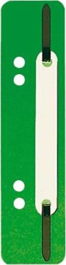 5 Star Einhängeheftstreifen PP kurz 150 x 34 mm d-grün Polypropylen Inh.25