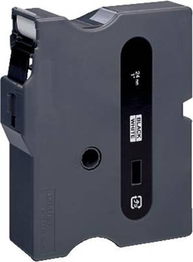 Schriftband Brother TX TX-251 Bandfarbe: Weiß Schriftfarbe:Schwarz 24 mm 15.4 m
