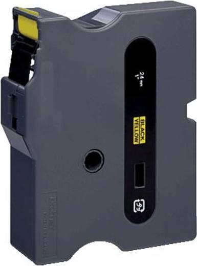 Schriftband Brother TX TX-651 Bandfarbe: Gelb Schriftfarbe:Schwarz 24 mm 15.4 m