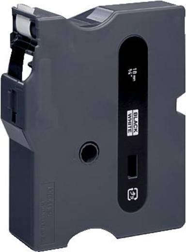 Schriftband Brother TX TX-241 Bandfarbe: Weiß Schriftfarbe:Schwarz 18 mm 15.4 m