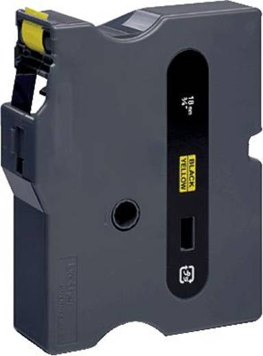 Schriftband Brother TX TX-641 Bandfarbe: Gelb Schriftfarbe:Schwarz 18 mm 15.4 m