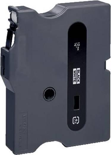 Schriftband Brother TX TX-231 Bandfarbe: Weiß Schriftfarbe:Schwarz 12 mm 15.4 m