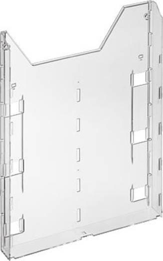 Durable Prospekthalter 8579-19 Transparent 242 mm x 320 mm x 34 mm Anzahl der Fächer 1