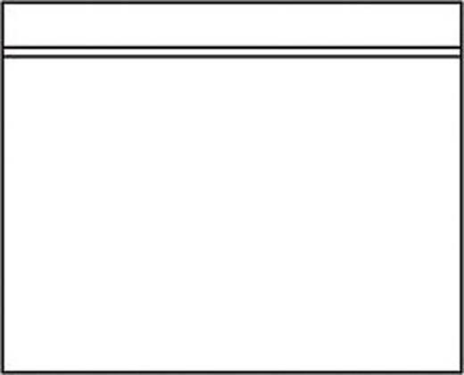 Dokumententaschen C5 neutral/722372 transparent 230x160 mm Inh.500