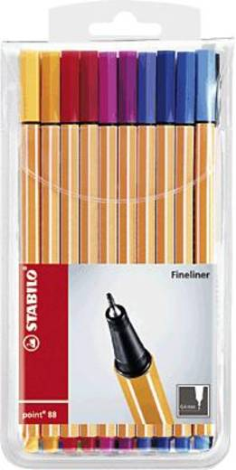 Stabilo Fineliner point 88® 20 St./Pack. 0.4 mm