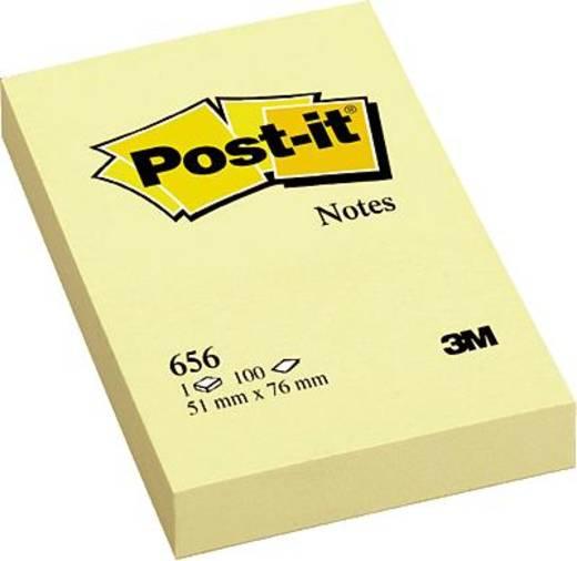 Post-it® Haftnotiz Notes 656 51 x 76 mm gelb Inh.100 Blatt