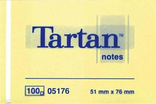 Tartan Haftnotizen notes 005176 51 x 76 mm hellgelb Inh.100 Blatt