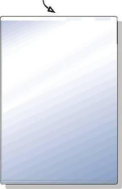 Image of Acco-Hetzel Ausweishülle 23400090 Transparent 1 St.