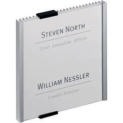 Image of Durable Türschild INFO SIGN - 4802 (B x H) 149 mm x 148.5 mm Metallic, Silber 480223