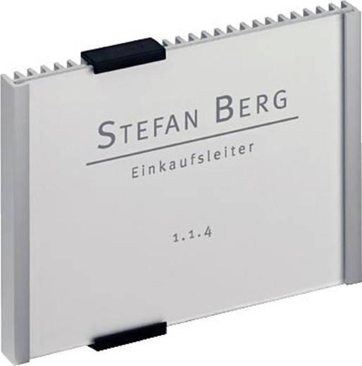 DurableTürschild 148,5x105mm/4801-23 149x105,5mm silber
