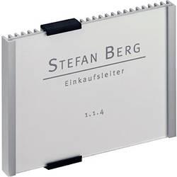 Image of Durable Türschild INFO SIGN - 4801 (B x H) 149 mm x 105.5 mm Metallic, Silber 480123