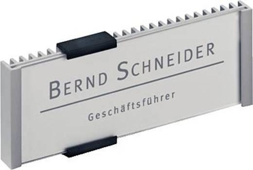 Durable Türschild 148,5x52mm/4800-23 149x52,5mm silber