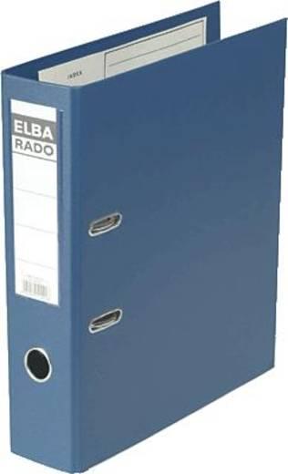 Elba Ordner DIN A4 Rückenbreite: 80 mm Blau 2 Bügel 10497BL