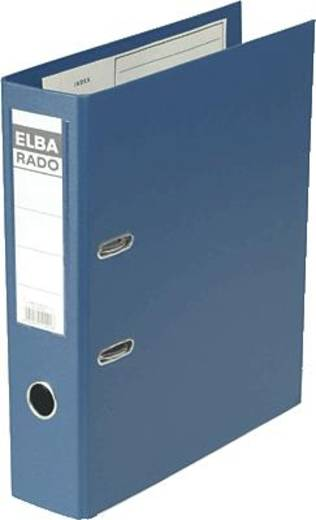 Elba Ordner rado-Plast A4/10497BL für DIN A4 blau PVC