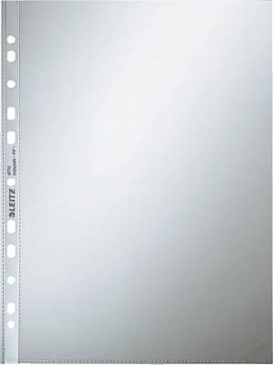 Leitz Prospekthüllen Standard A4, glasklar/4770-00-02 80my oben offen PP Inh.100