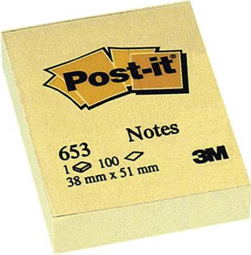Post-it® Haftnotizen/653E 38x51 mm gelb