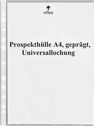 5 Star Prospekthüllen A4 geprägt oben 50my PP Inh.100
