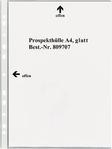 5 Star Prospekthüllen DIN A4, glatt glasklar oben und links 80my PP Inh.100