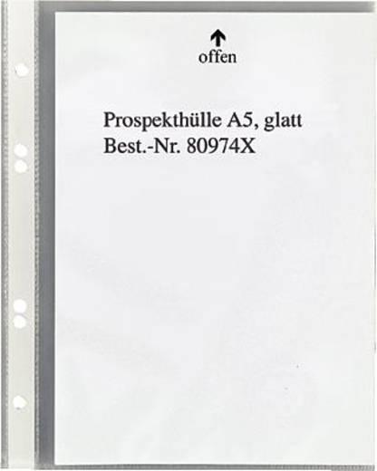 5 Star Prospekthüllen A5 glasklar oben 60my PP Inh.100