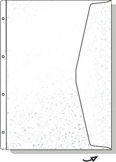 HETZEL Dokumenten-Hülle/226784 A4 transparent Weichfolie 180my Inh.5