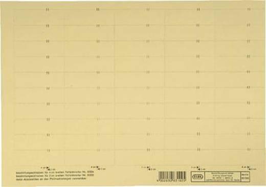 Elba vertic 1 Reiter/Schilder/83582GB gelb Karton 230 g/qm Inh.10