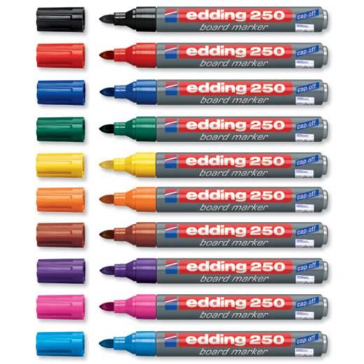 Edding edding 250 whiteboard marker Schwarz 4-250001