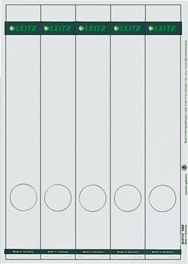 Leitz Rückenschilder PC-beschriftbar/1688-00-85 39x285mm grau Inh.125