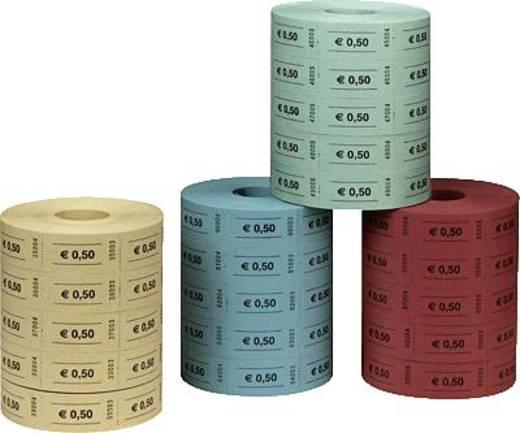 herlitz Wertmarken EUR0,50/10733350 blau/rot/gelb/grün Inh.5x1.000