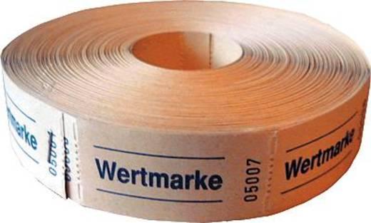 herlitz Wertmarken neutral/791830 blau/rot/gelb/grün Inh.5x1.000