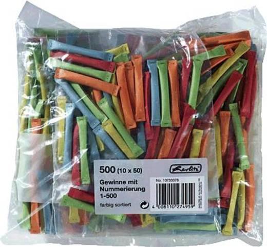 herlitz Gewinne 1-500/10733376 farbig sortiert Inh.500