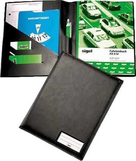 sigel Einband für Formularbücher/EF510 DIN A5 hoch schwarz matt