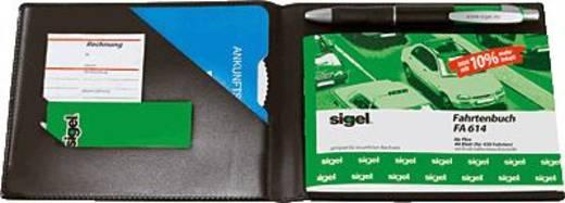 sigel Einband für Formularbücher/EF610 DIN A6 quer schwarz matt